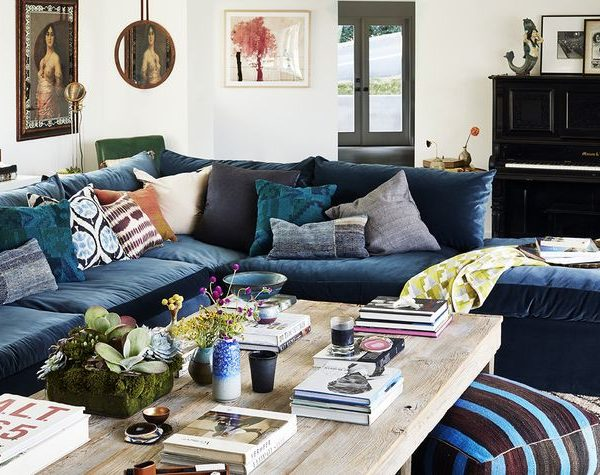 Navy Sectional Love