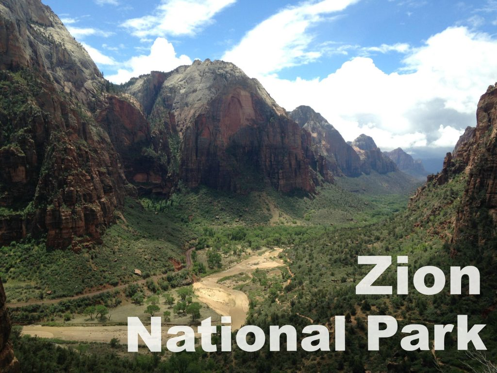 Zion National Park Travel | Kansas City life, home, and style blogger Megan Wilson shares a post about a trip to Zion National Park @shadylaneblog on IG