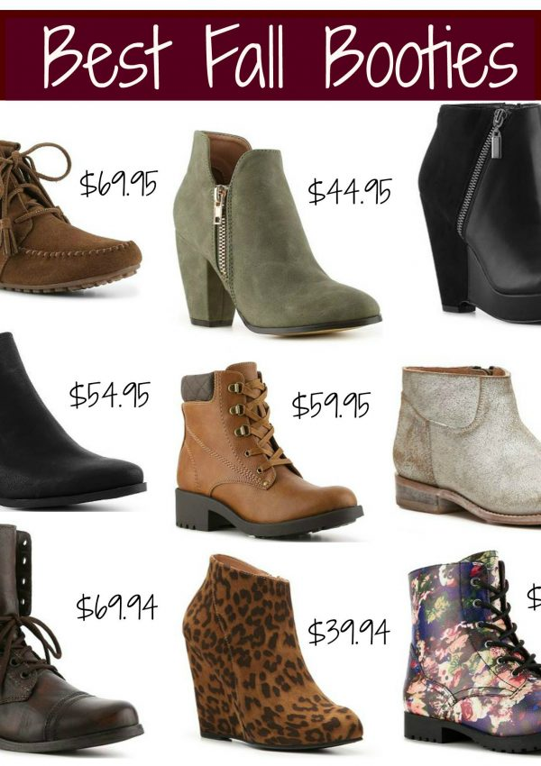 Best Fall Booties