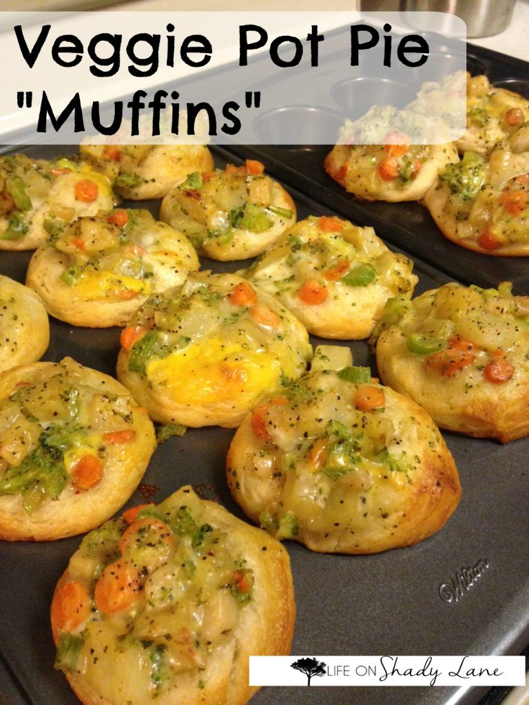 Veggie Pot Pie Muffins - 2