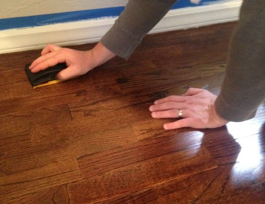 How to Refinish Wood Floors yourself via Life on Shady Lane blog