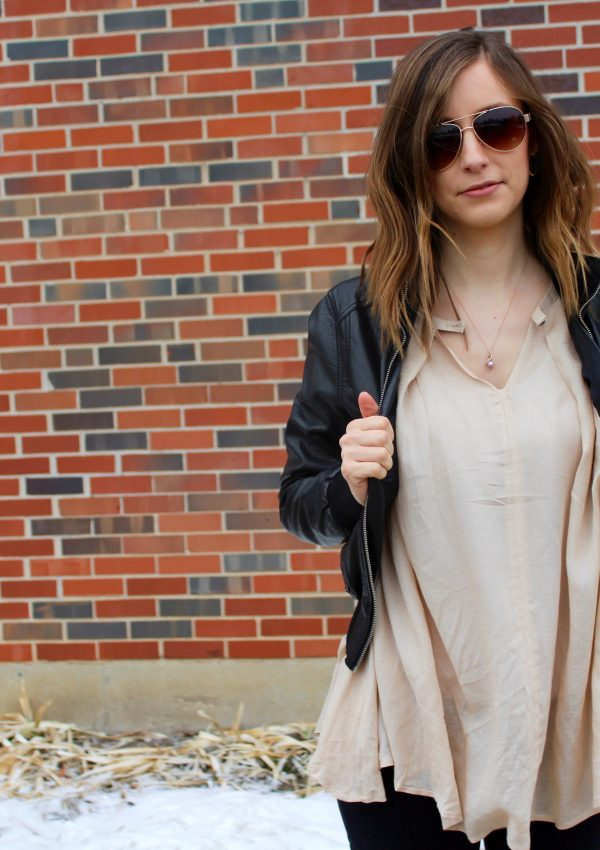 Button Front Tunic + a Giveaway