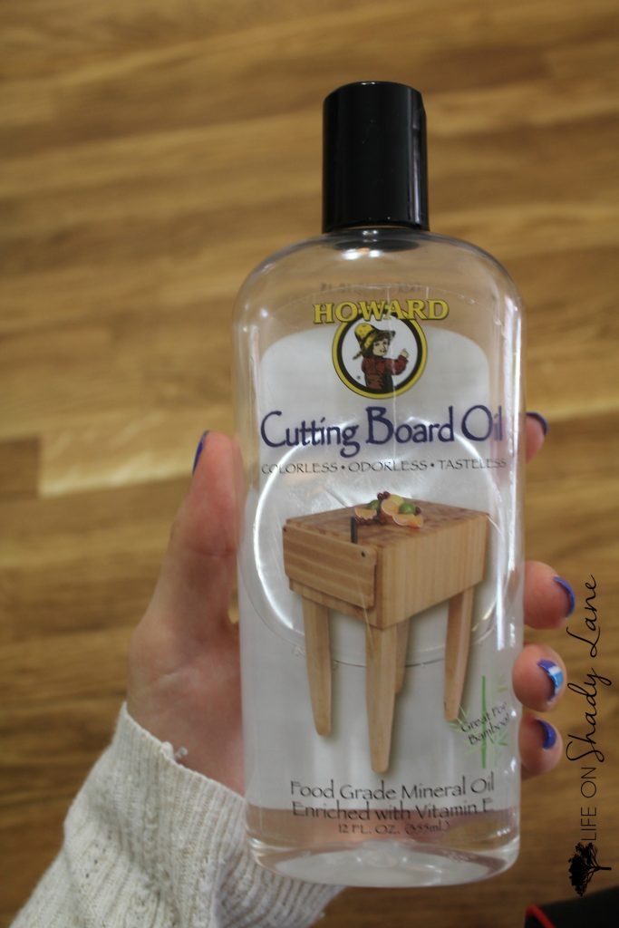 How to repair and refinish a stained butcher block kitchen island