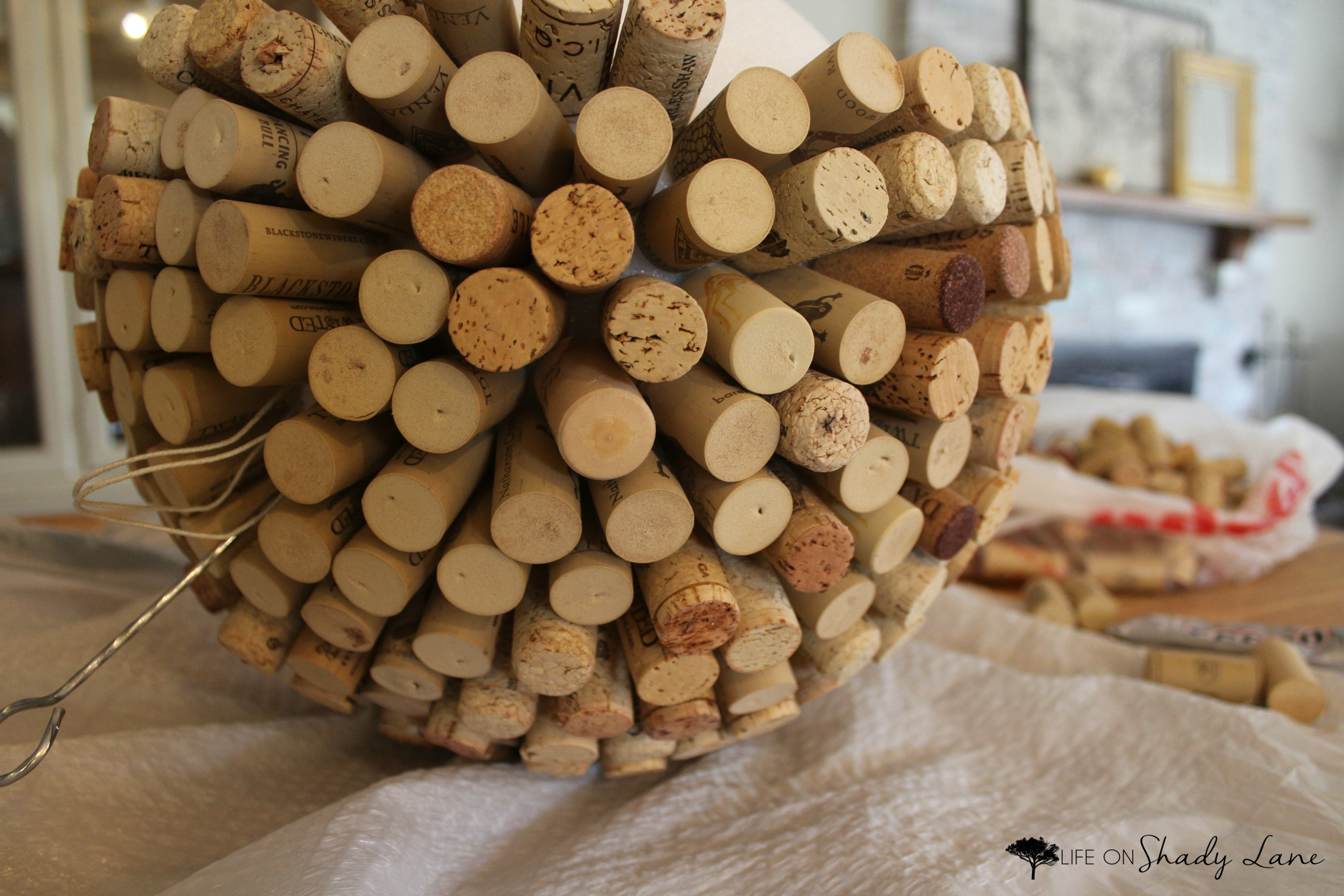 Diy Wine Cork Ball Wondering What To Do With All Those