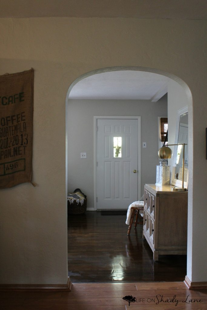 A Modern Farmhouse Door Makeover Life On Shady Lane