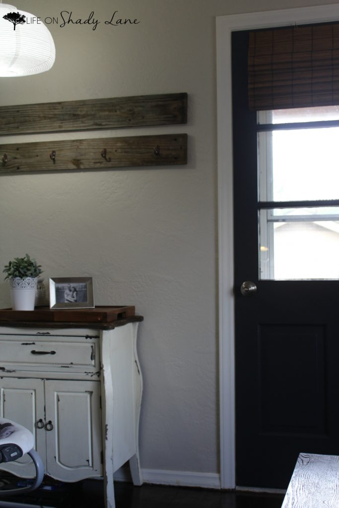 A Modern Farmhouse Door Makeover, Black Interior Doors