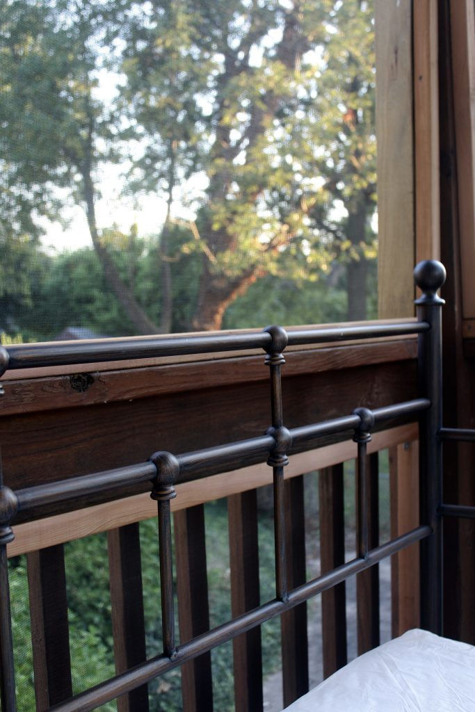 Screened in porch progress via Life on Shady Lane blog