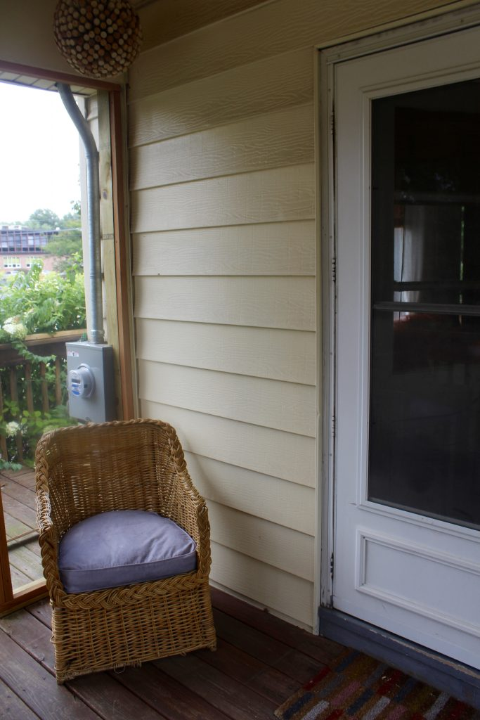 Screened in porch via Life on Shady Lane blog