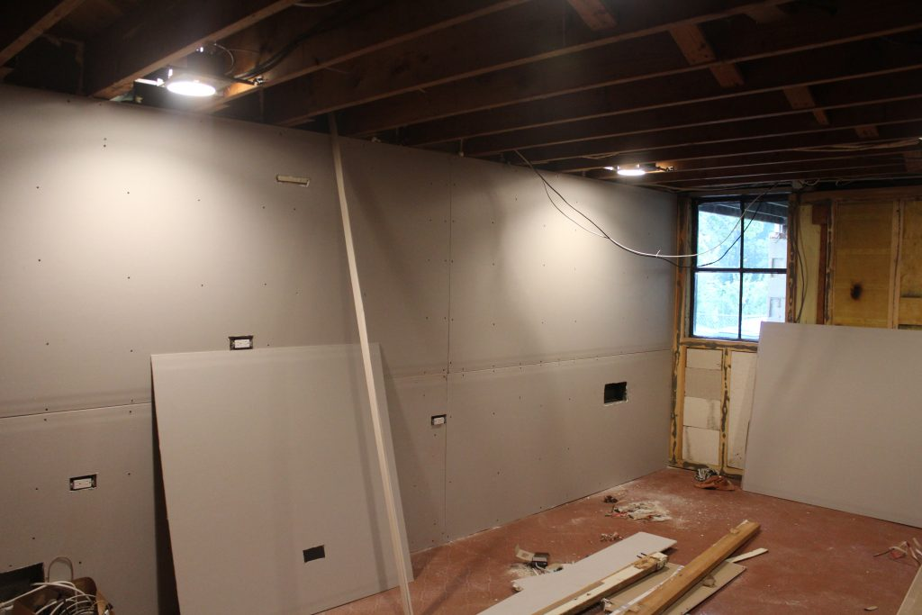 Man Cave: Before via Life on Shady Lane Blog