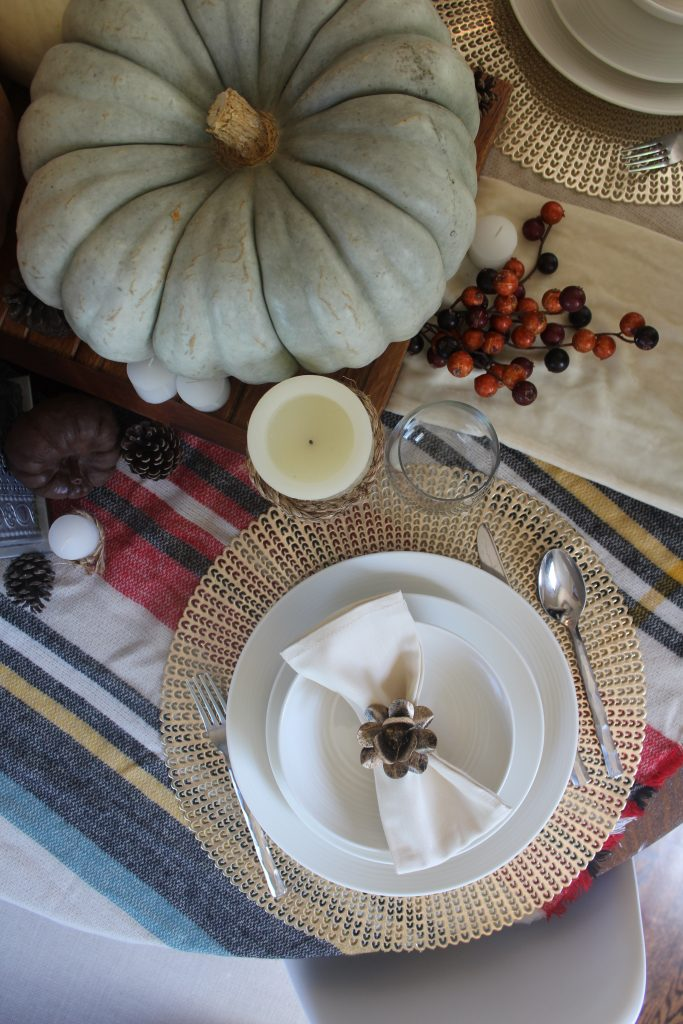 Layered Fall Tablescape via Life on Shady Lane blog
