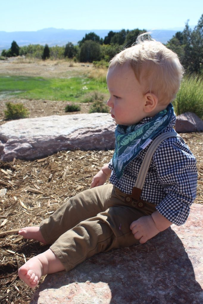 Stylish Baby Bibs via Life on Shady Lane