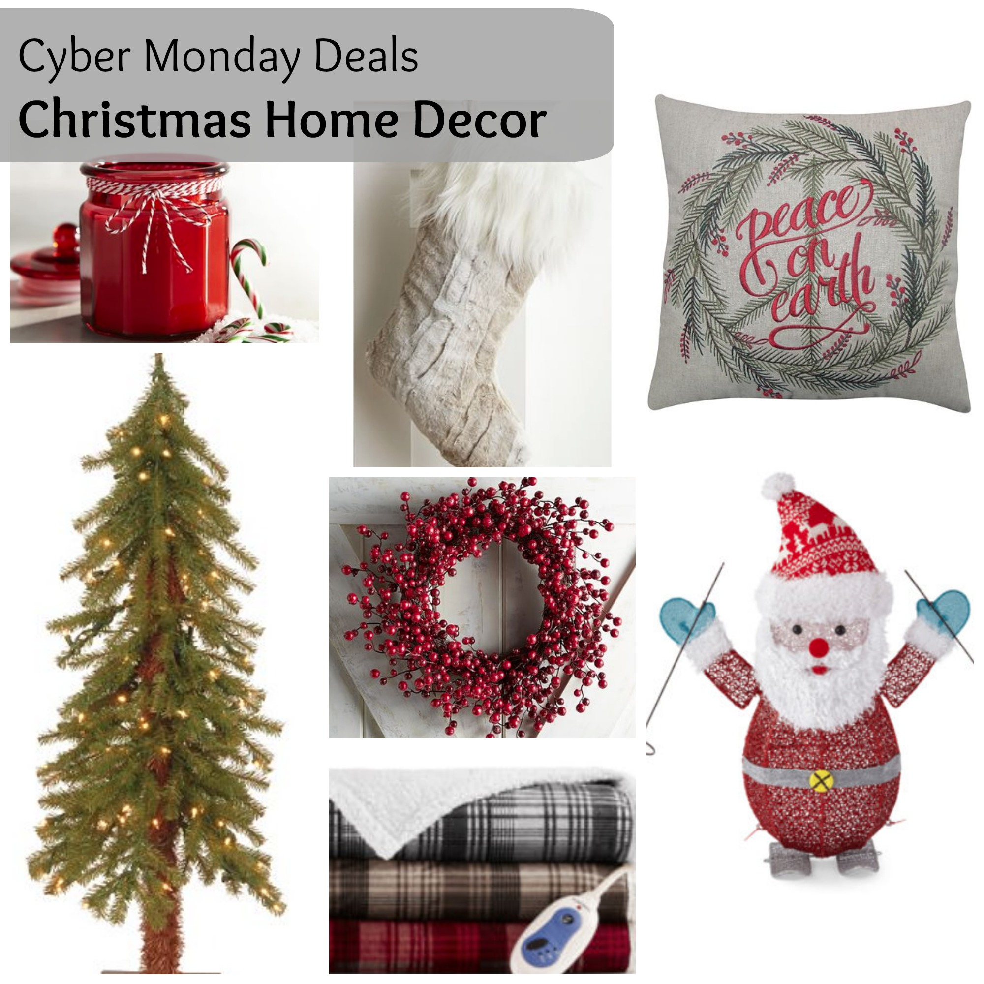 cyber monday christmas home decor 2