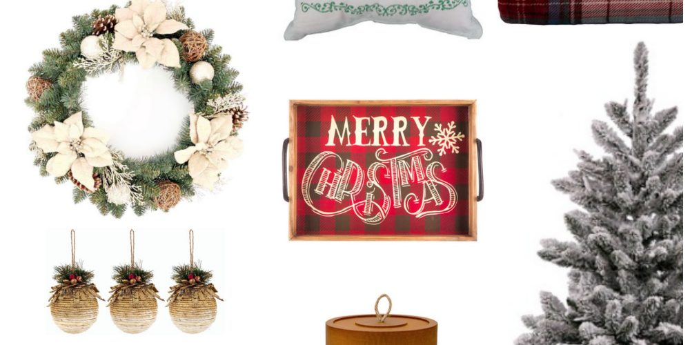 Affordable Farmhouse Christmas Decor