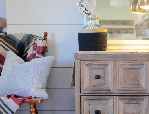 How to Shiplap a Wall for Cheap