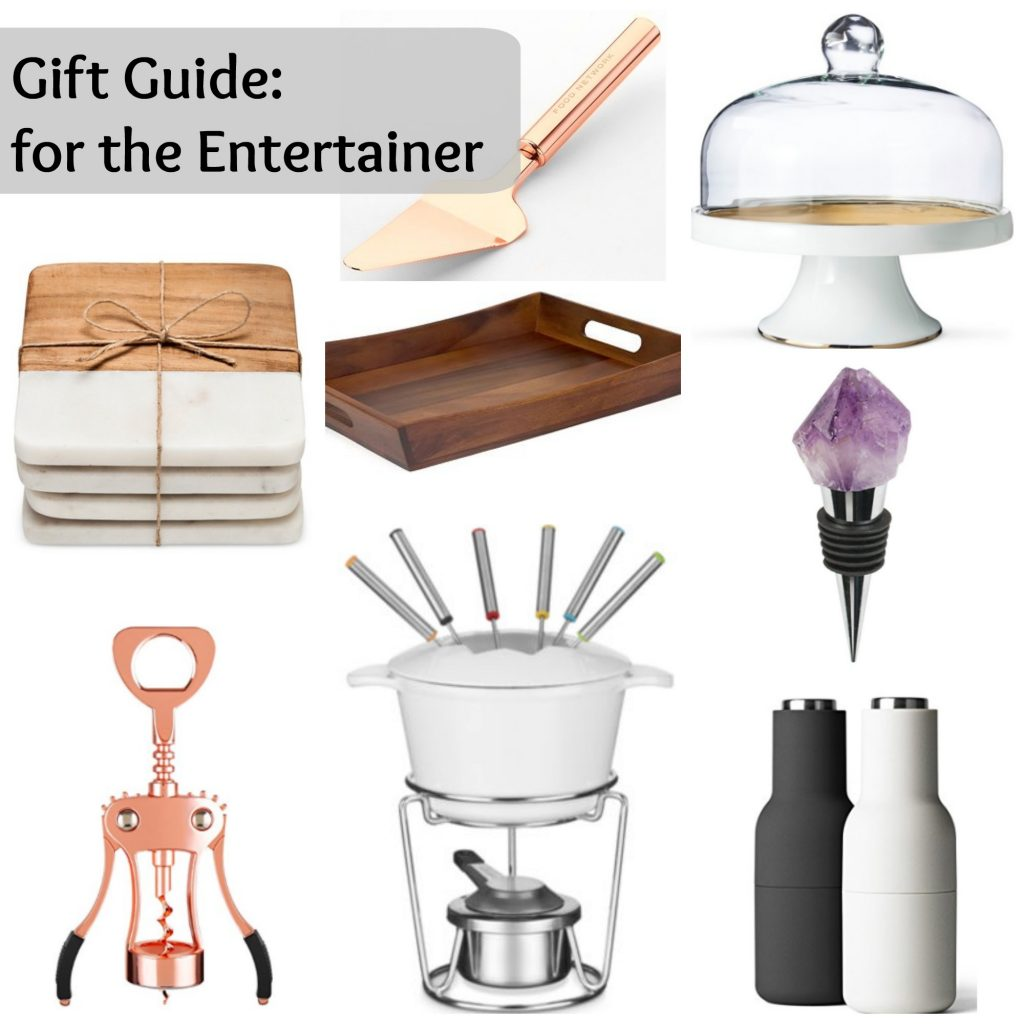 Gift Guide: For the Entertainer - via Life on Shady Lane blog