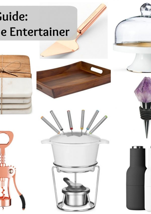 Gift Guide: for the Entertainer