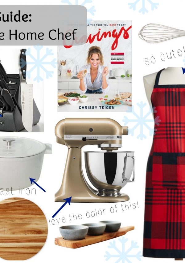 Gift Guide: for the Home Chef