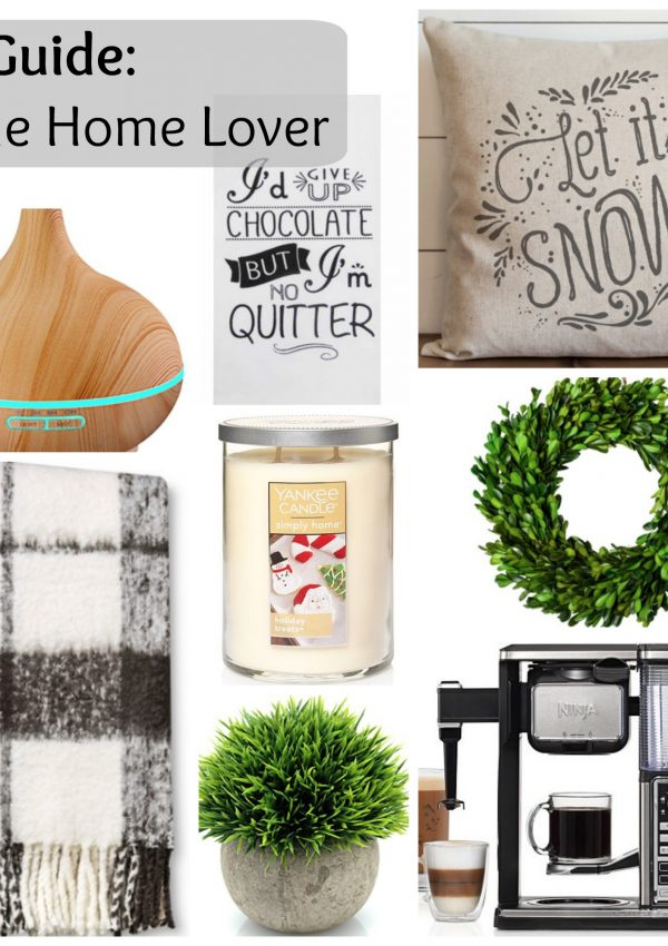 Gift Guide: for the Home Lover