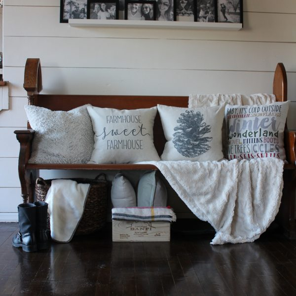 Simple and Cozy Winter entry via Life on Shady Lane blog