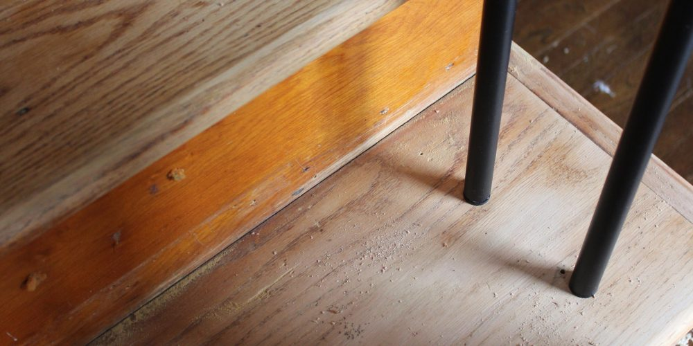 An Update on our Staircase via Life on Shady Lane blog