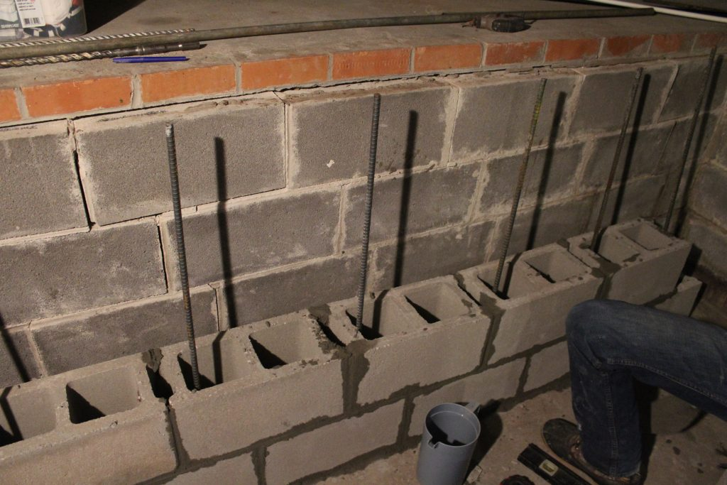 Foundation repair via Life on Shady Lane blog