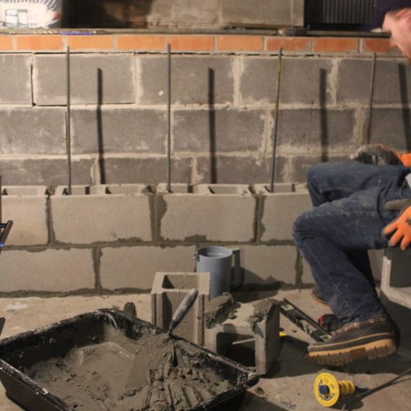 Block Wall Foundation Repair