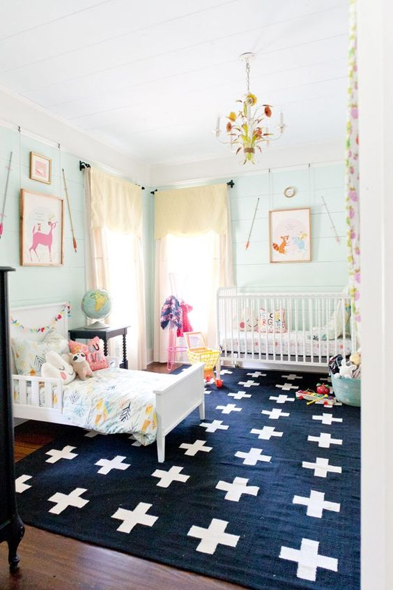Toddler Bedroom Inspiration via Life on Shady Lane blog