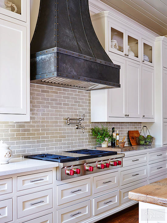 The Best Farmhouse Range Hoods via Life on Shady Lane blog