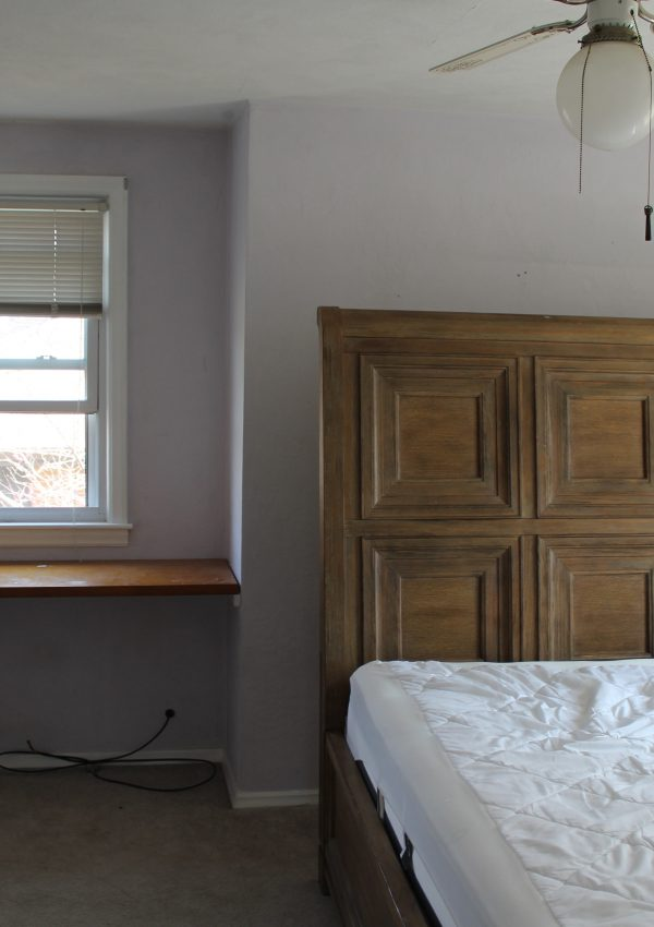 Our Upstairs Bedroom: Before