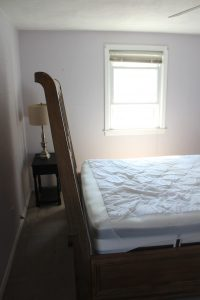 Upstairs Bedroom: Before