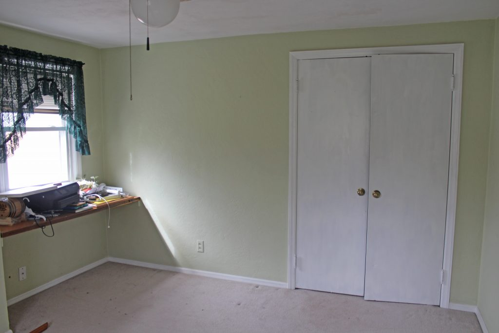 The Other Upstairs Bedroom - Before