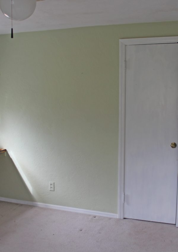 The Other Upstairs Bedroom – Before