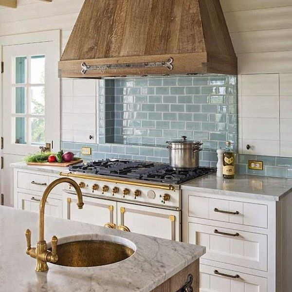 The Best Farmhouse Rangehoods via Life on Shady Lane blog