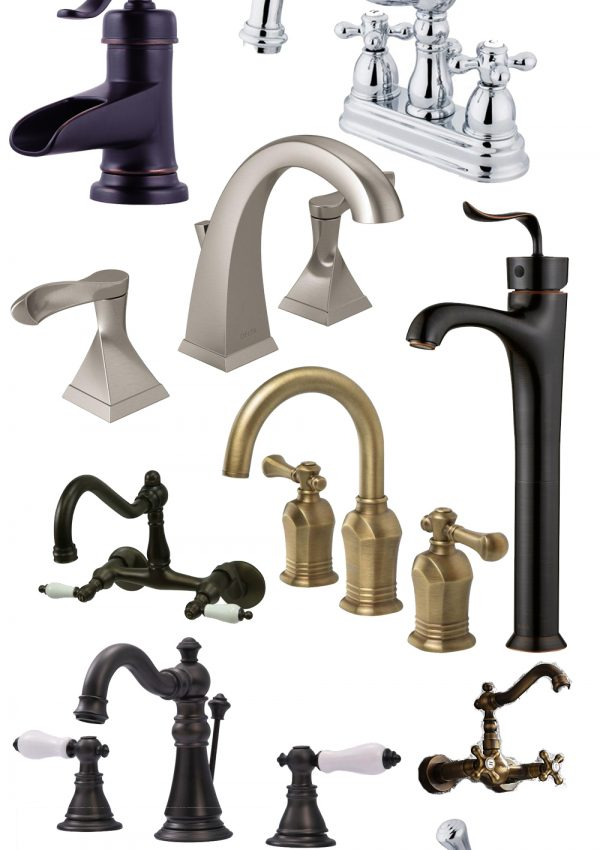 Affordable (and Pretty!) Bathroom Faucets