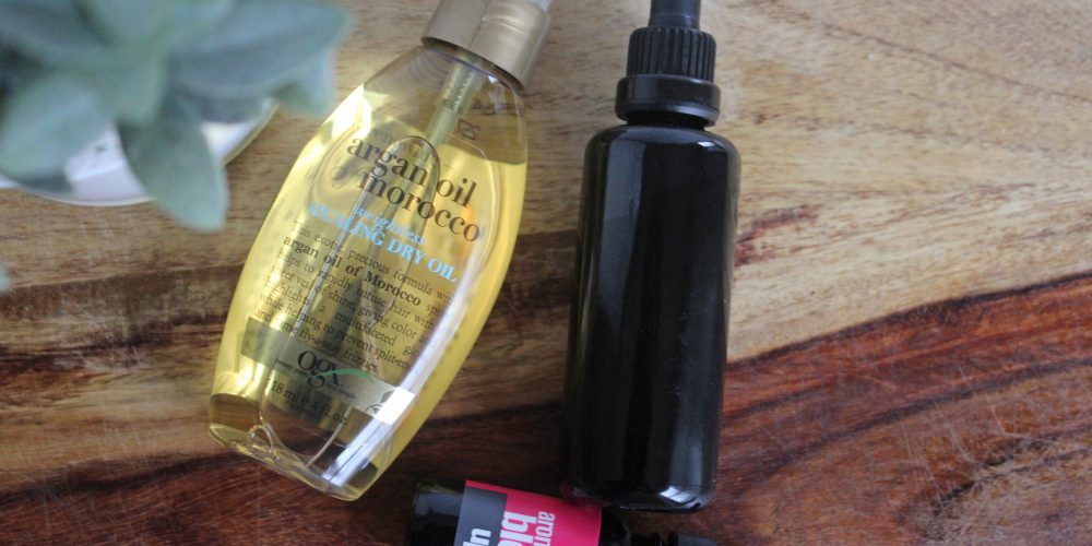 DIY Healthy Hair Oil via Life on Shady Lane blog