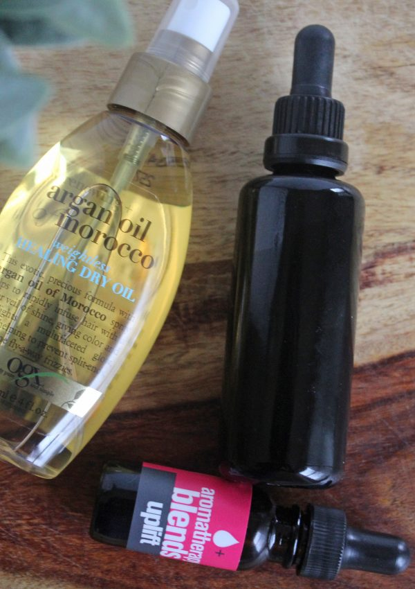 DIY Healthy Hair Oil