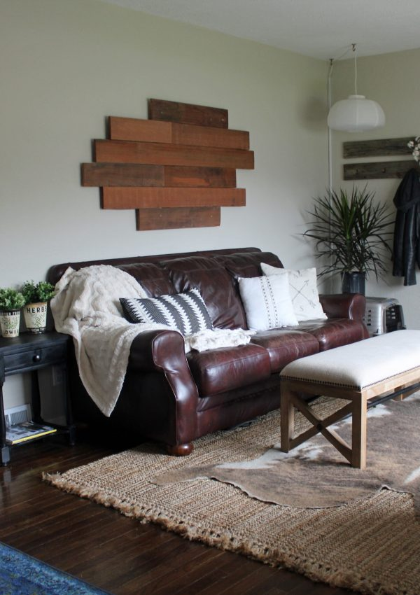 Then and Now: Our Living Room