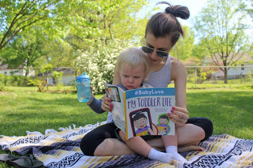 Less Screen Time, More Play Time - #BabyLove: My Toddler Life ( a book + giveaway!) via Life on Shady Lane blog