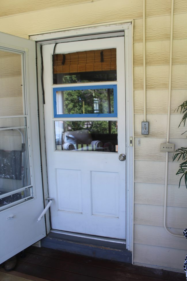 A quick and easy door makeover