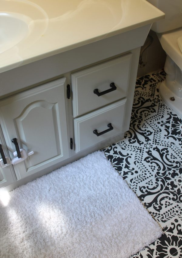 Painted Bathroom Vanity