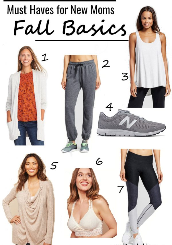 Must Haves for New Moms: Fall Basics