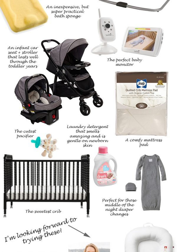 Tried and True Baby Gear Must Haves