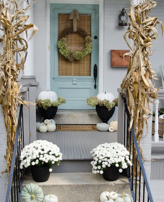 Inspiring Fall Front Porches