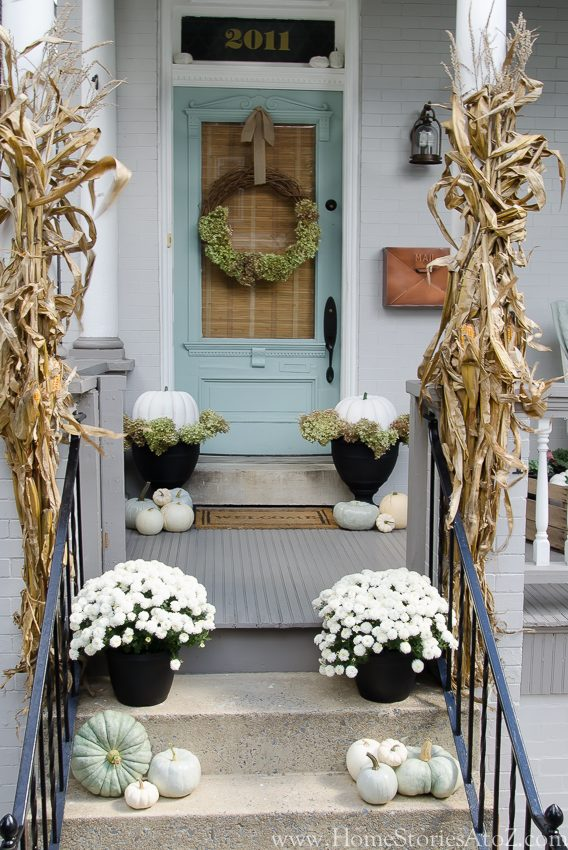 Inspiring Fall Porches