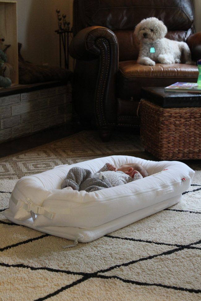 Why I love the Dockatot: an honest review of the baby lounger we're using for our daughter!