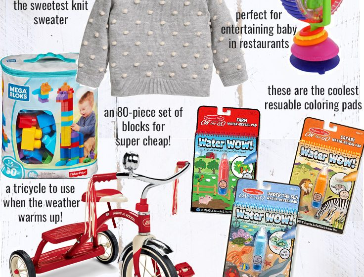 Holiday Gift Guide – For Baby and Toddler