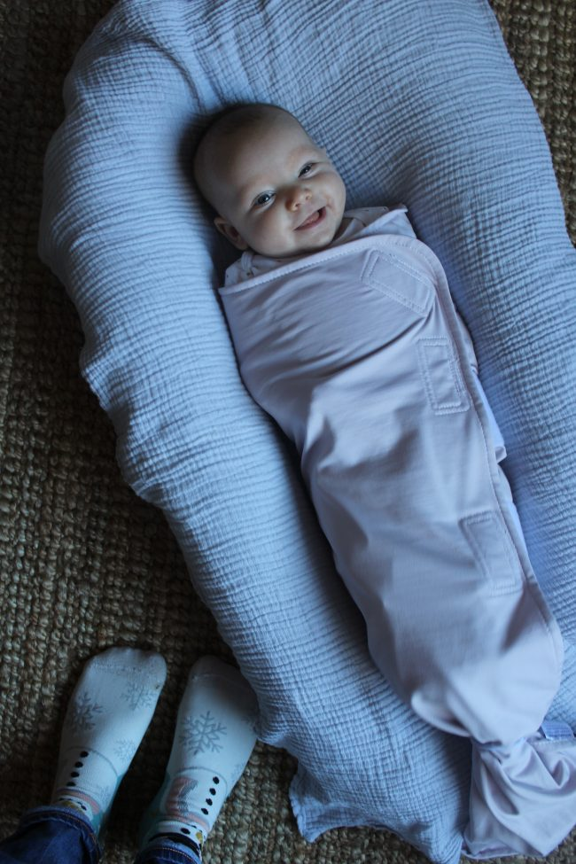 The Best Baby Swaddle - Ollie//The Smarter Swaddle