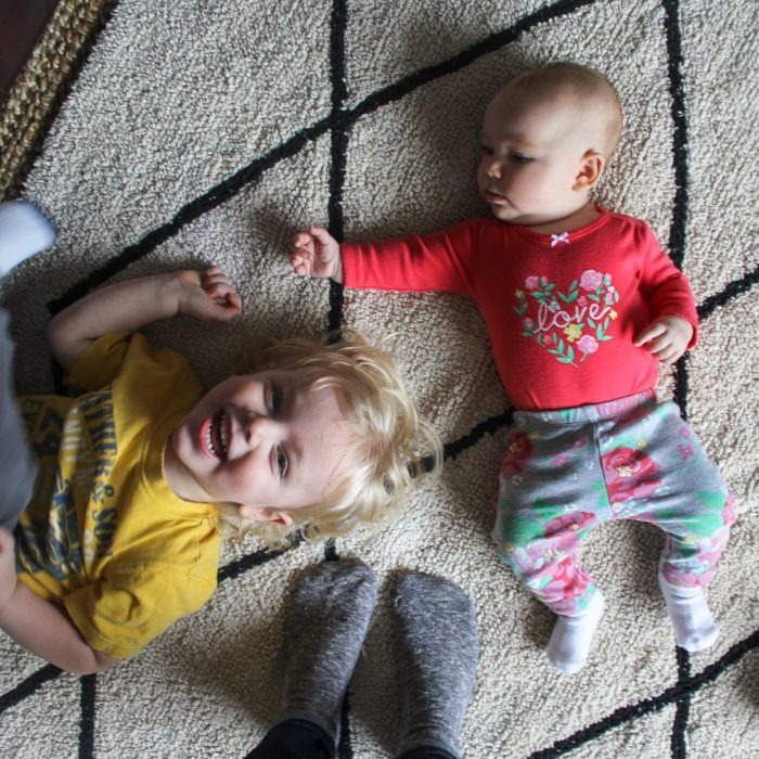 My all time favorite (kid friendly!) rug - it's machine washable!