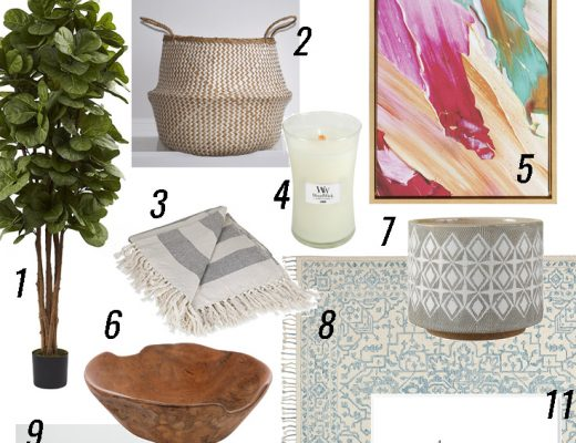 Spring and Summer Home Decor from Amazon - perfect for a home decor refresh!