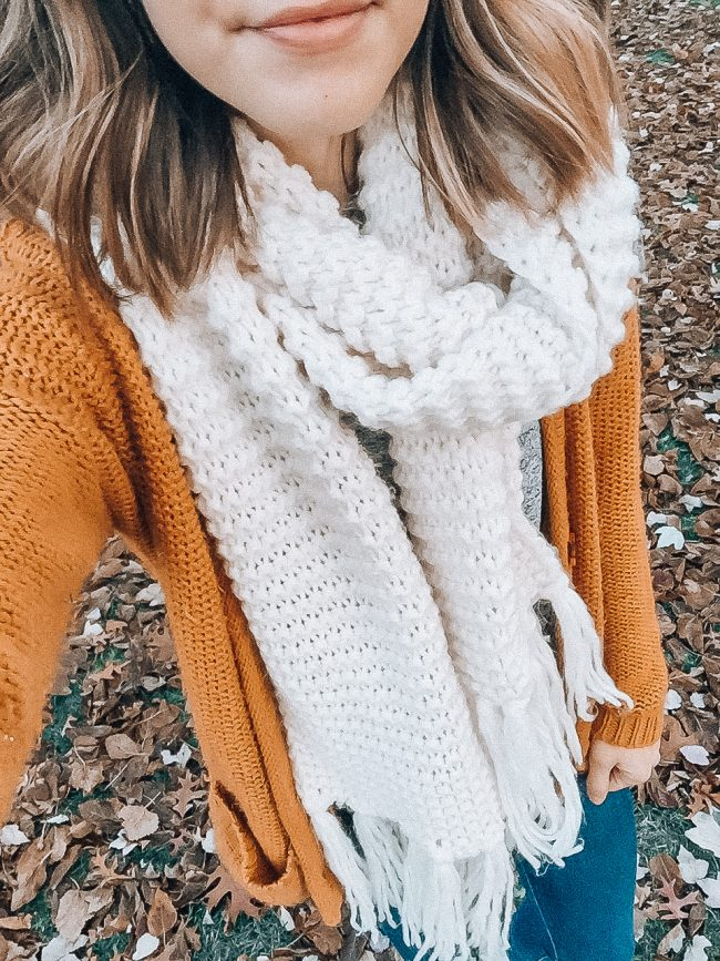 My Favorite Scarves for Fall and Winter: a roundup of the cutest and coziest! || Life on Shady Lane blog